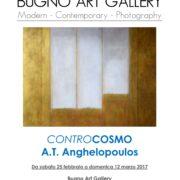 """Personale """"Controcosmo"""" di A.T. Anghelopoulos, Bugno Art Gallery, Venezia"""