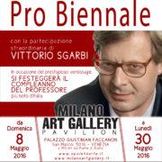 Pro Biennale Venezia 2015 a cura di Vittorio Sgarbi