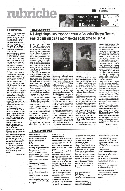 articolo  ANGHELOPOULOS A FIRENZE  pubblicato su Il-Dispari 20160718