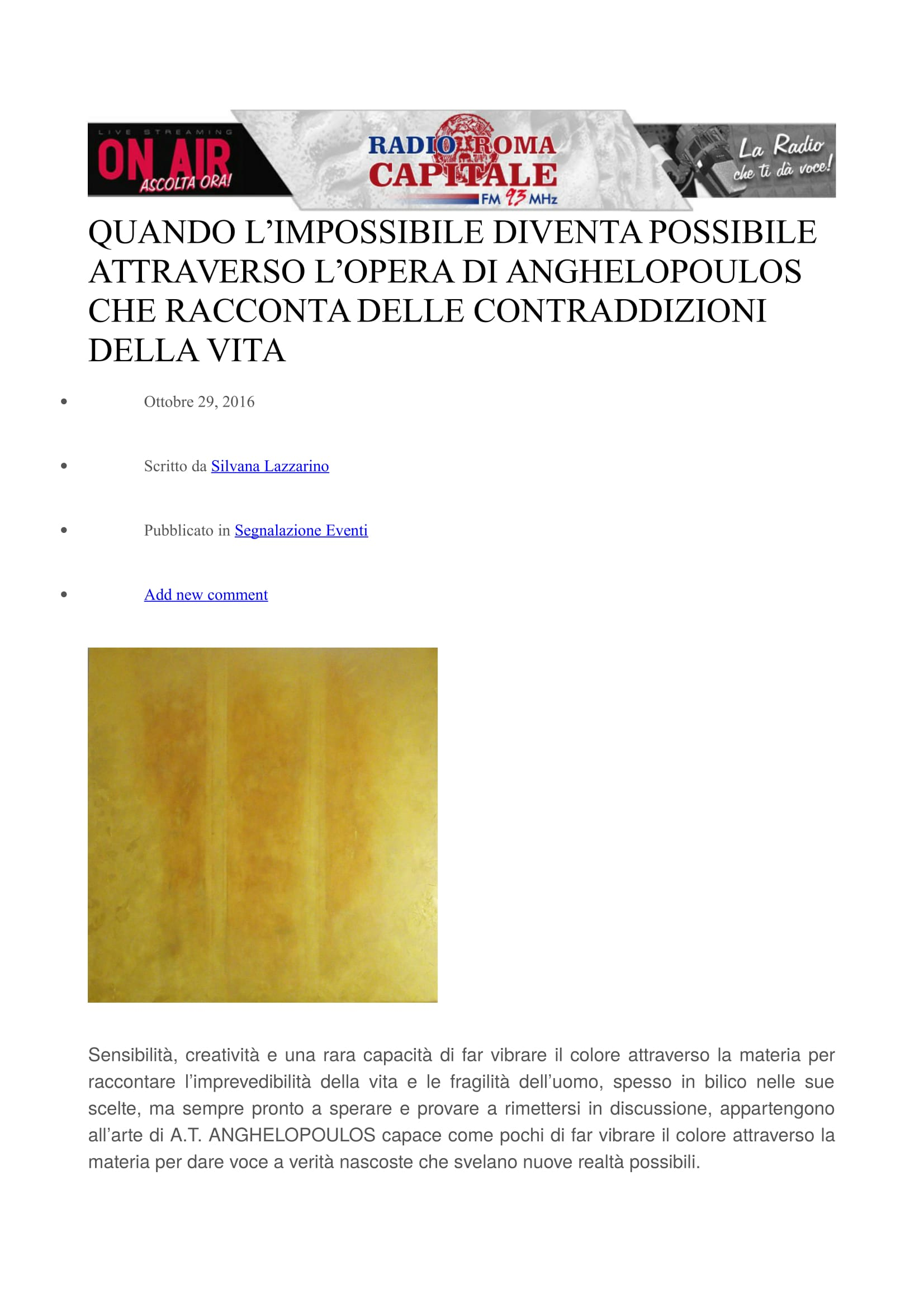 RMC mostra Venezia.1-1