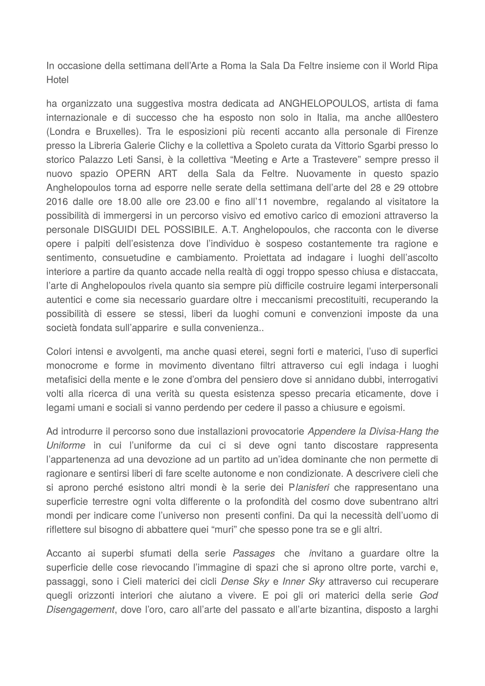 RMC mostra Venezia.1-2