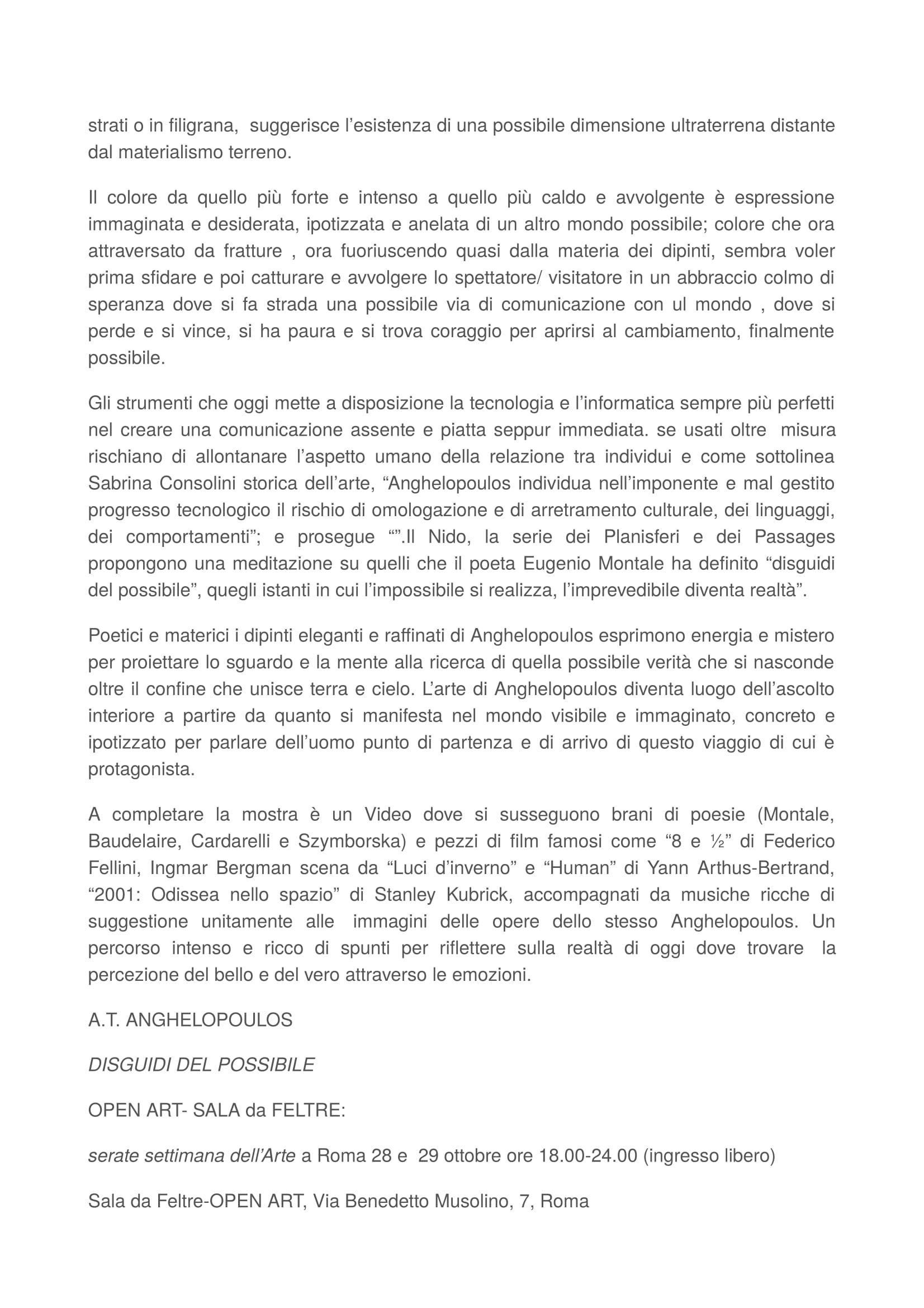 RMC mostra Venezia.1-3