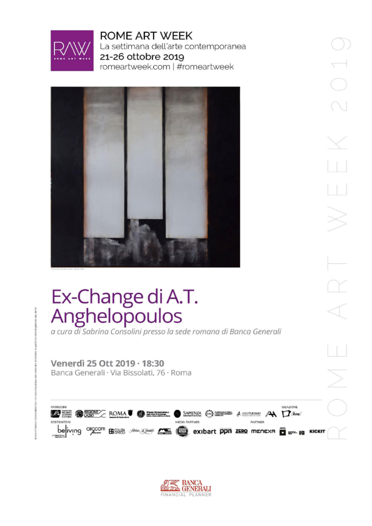 Rome Art Week 2019 - Anghelopoulos